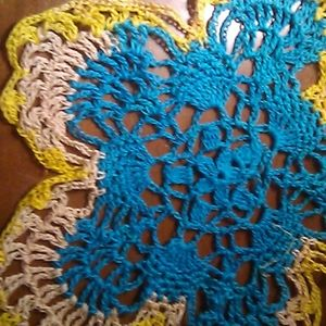 Other - NWOT.  Turquoise, Yellow and Beige Dollie